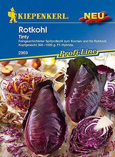 SANHOC Samen-Paket: Rotkohl Tinty