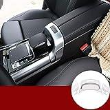 ABS Chrom Auto Innenraum Mittelarmlehne Box Schalter Rahmen Abdeckung Verkleidung 3...