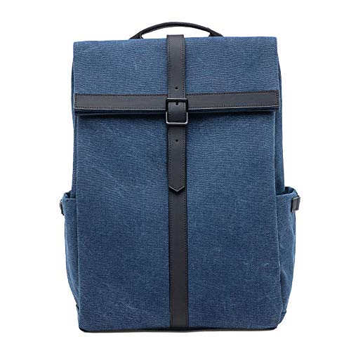PANFU-DY Laptop-Rucksack Laptop-Diebstahlschutz Großer Reisecomputer-Rucksack mit wasserabweisendem Tagesrucksack for Schulrucksack for Unternehmen, Hochschulen, Männer und Frauen (Color : Blue)