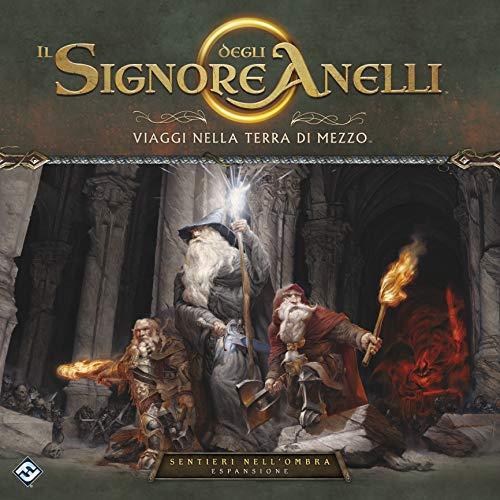 Asmodee-Il Signore degli Anelli-Viaggi nella Terra di Mezzo: Sentieri dell'Ombra-Espansione Gioco da Tavolo Edizione in Italiano (10703 Italia)