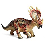 SmartLives Jurasic Dinosaur Model, Dragon Figure Educational Soft Rubber Animal Toys for Children Figurine Collectible Kids Gift (Styracosaurus)