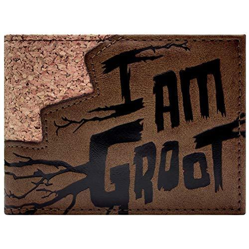Marvel Guardians of the Galaxy Groot Portemonnaie Geldbörse Braun
