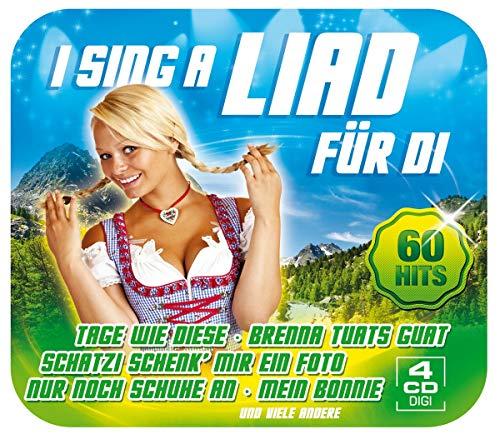 I sing a Liad für di - 60 Hits auf 4 CDs (Tage wie diese, Brenna tuats guat, Schatzi schenk mir ein Foto, Nur noch Schuhe an...)