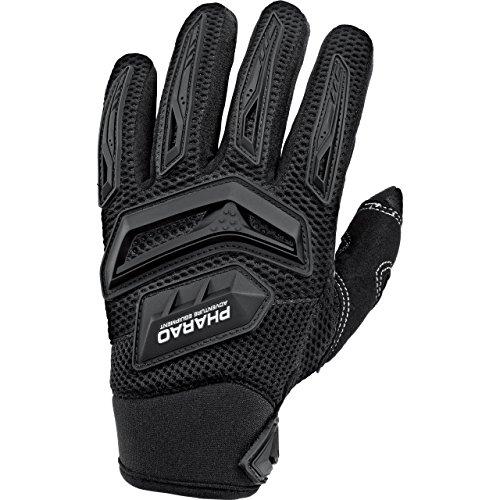 Pharao X Motorradhandschuhe kurz Motorrad Handschuh Textilhandschuh 1.0 schwarz 9,5, Herren, Cross/Offroad, Sommer