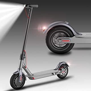 VEEKO Electric Scooter for Adults,8.5 Inch Foldable E-Scooter,25.7 km Long Range,350W High Motor,Up to 22.5KPH,Portable Lightweight Double Security Electric Kick Scooters Commuting (US with Warranty)