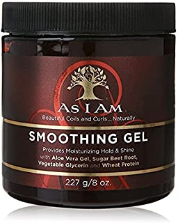 AS I AM Naturally SMOOTHING GEL 8oz HOLD AND SHINE