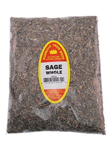 Marshalls Creek Spices Popular overseas 55% OFF Refill Pouch 3 Ounces Sage Whole