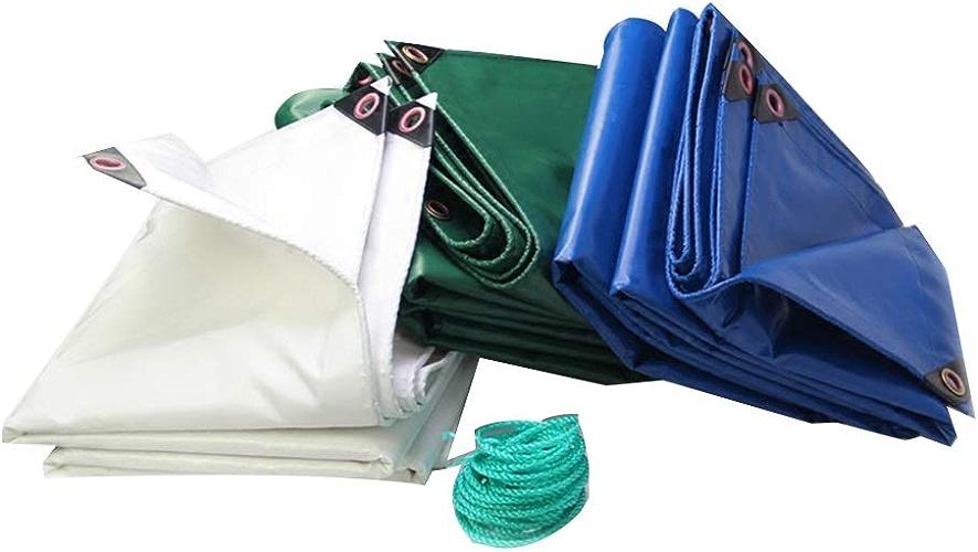 Toile de Camion extérieure de Toile imperméable imperméable de Toile de Tissu antipluie de Toile de bache d'épaisseur Anti-vieillissement LIUDINGDING (Couleur   vert, Taille   5  6m)