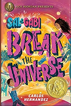Sal and Gabi Break the Universe by Carlos Hernandez science fiction and fantasy book and audiobook reviews