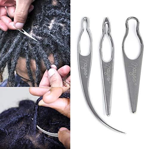 3 In 1 Dreadlocks Tool, Hair Locking Tool, Interlocks or Sisterlocks, Starting and Maintaining Your Locs Easy