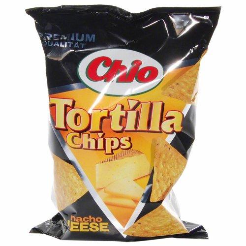 Chio: Tortilla Chips - Nacho Cheese - 1 Beutel à 125 gr