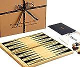 Tablero de Backgammon - Juego de Backgammon de Madera de Lujo con Piezas para Jugar - Jaques de Londres - Desde 1795