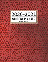 Student Planner 2020-2021: 12 Month School Organizer,Student Planner Undated,Weekly and Monthly Planner,Homeschool Planner 2020-2021, Homeschooling Planner 2020-2021|Leather Student Planner 2020-2021(Student Planner For Academic Year 2020-2021)