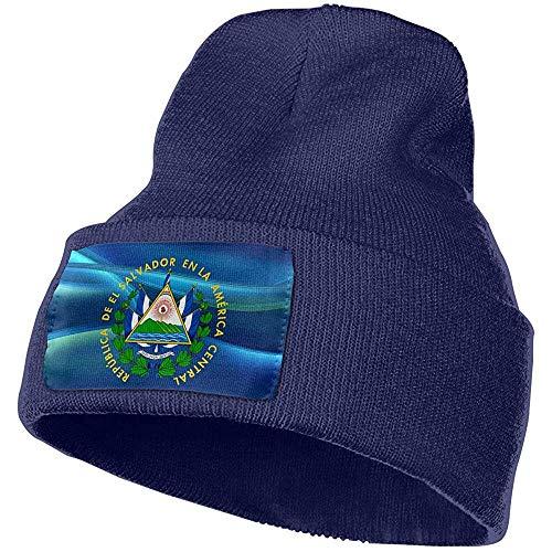 Dale Hill El Salvador Escudo de Armas Winter Beanie Hat Gorro de Punto para Hombres y Mujeres