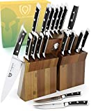 DALSTRONG Knife Set Block - Gladiator Series Colossal Knife Set - German HC Steel - 18 Pc - Walnut...