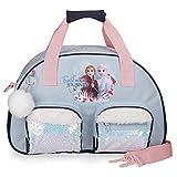 Disney Frozen Trust your journey Bolsa de Viaje Azul 35x21x11,5 cms Poliéster 27.72L