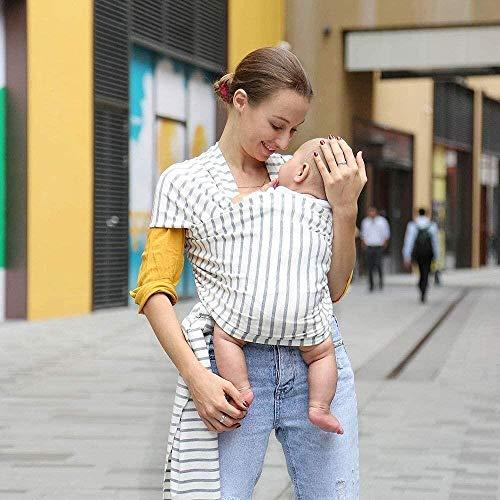 Porte-bébé HZYD -Baby réglable en Coton Allaitement, Doux, Confortable (Couleur: F) (Couleur: F) (Couleur: E) (Couleur: F), Couleur: F ( Color : F )