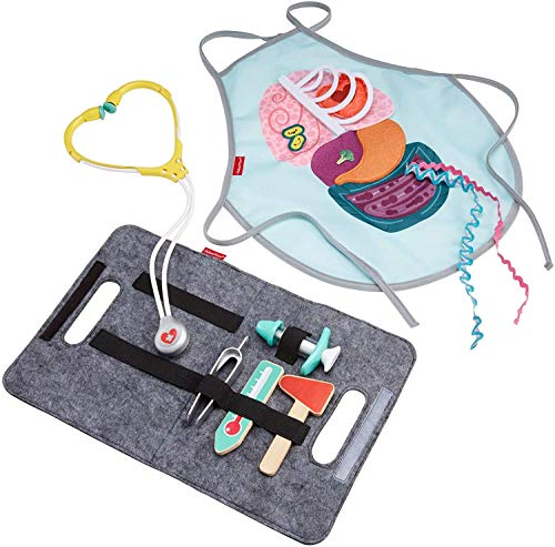 9-piece Fisher-Price Patient and Doctor Kit  $9.59 at Amazon
