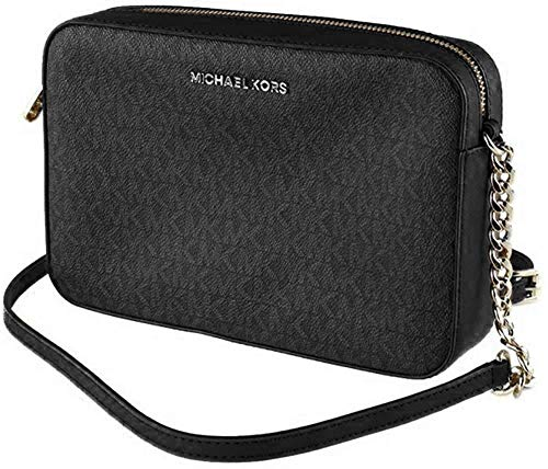 Michael Kors Women's Jet Set Item Crossbody Bag No Size (Black)