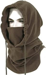 BINE Mens Winter Hat Cold Weather Face Mask Balaclava Hood Outdoor Heavyweight Sports Balaclava Windproof