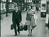 Jeremy and Marion Thorpe - Vintage Press Photo