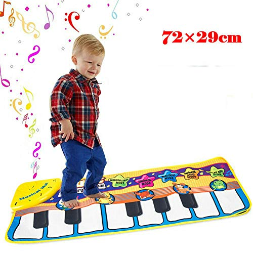 Musical Piano Mat Met Multi Animal And Music Mode, Verstelbare Vol, Early Education Kindergarten Toys, Beste Toetsenbord Dancing Mat Gift Voor Boys & Girls