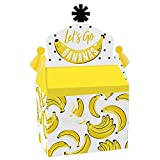 Big Dot of Happiness Let's Go Bananas - Treat Box Party Favors - Tropical...