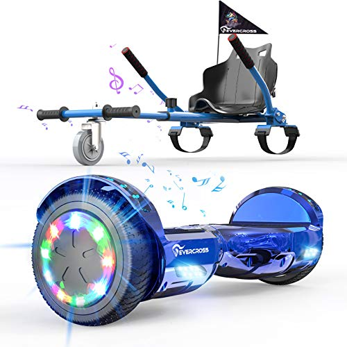 EverCross Hoverboard, Hoverboard for Adults, Hoverboard with Seat Attachment, 6.5'...