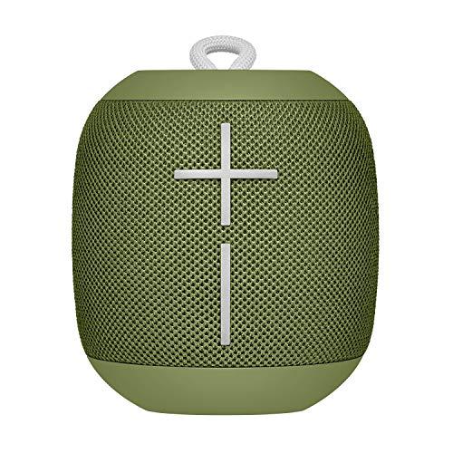 Ultimate Ears Wonderboom Altavoz Portátil Inalámbrico Bluetooth, Sonido Envolvente de 360°, Impermeable, Conexión de 2 Altavoces para Sonido Potente, Batería de 10 h, Verde (Avocado)