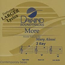 More [Accompaniment/Performance Track] by Made Popular By: Mary Alessi (2004-05-03)
