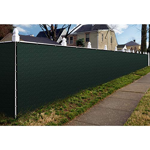 DOEWORKS 6x25 FT Privacy Screen Wind Shading Fence Backyard Shade Fencing with Brass Grommet