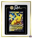 Pikachu V SWSH061 Jumbo - Jumboost X Epée et Bouclier 4.5 Destinées Radieuses - Carta Gigante
