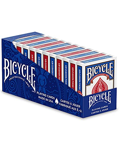 Bicycle Standard Playing Cards, Red and Blue