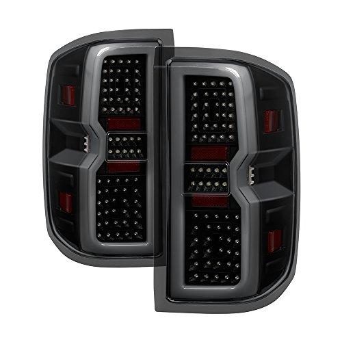 Carpart4u for Chevy Silverado 1500 2014-2016 2500HD 3500HD 15-16 LED Light bar rear brake tail lights lamps