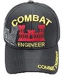 Combat Engineer Military Mesh Cap Black