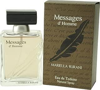 Messages By Mariella Burani For Men. Eau De Toilette Spray 3.4 Ounces