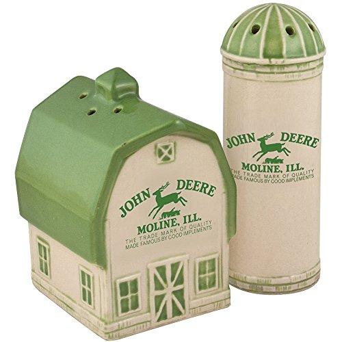 Deere Vintage Logo Salt and Pepper Shaker Set