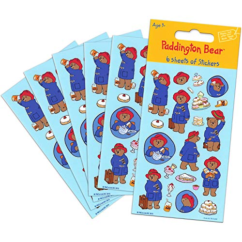 Paddington Bear Stickers (6 Sheets)