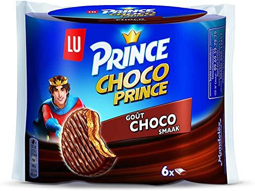 Schokoladenkekse | Lu | Prinz Keks Choco Choco 6 Kekse | Gesamtgewicht 170 Gramm