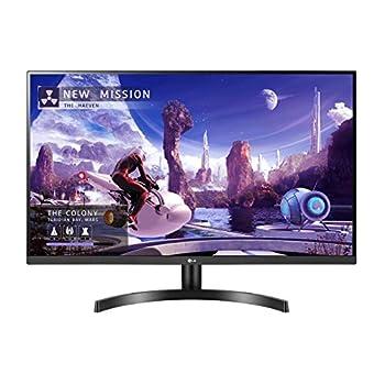 "LG 27QN600-B 27"" QHD  2560 x 1440  IPS Display with FreeSync sRGB 99% Color Gamut HDR10 with a 3-Side Virtually Borderless Design Black"