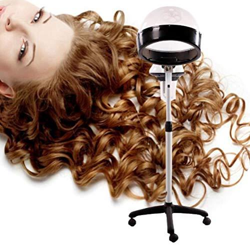 Salon - Machine à vapeur pour cheveux - Pour la maison, les cheveux, les cheveux, les cheveux, les cheveux - Réglable en hauteur - Minuterie 680W A