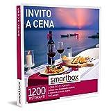 Smartbox - Invito a Cena - Cofanetto Regalo Coppia, 1 Menù di Due o Tre Portate per 2 Persone, Idee Regalo Originale