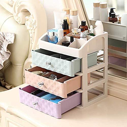 Prom-note Makeup Aufbewahrungsbox Arbeitsplatte Aus Kunststoff Große Kosmetikkasten, Schublade Set...