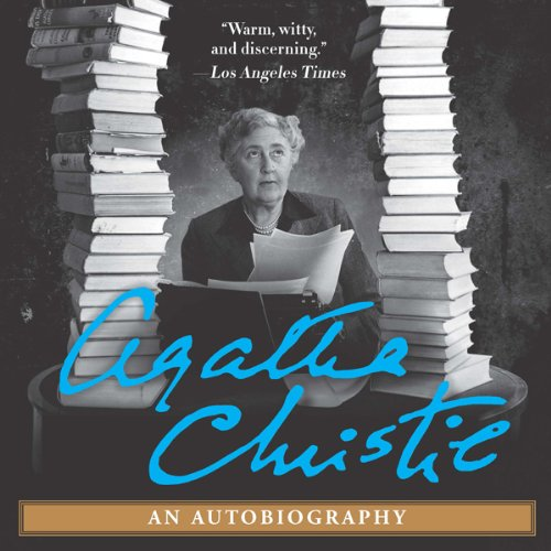 Agatha Christie: An Autobiography audiobook cover art