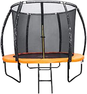 Trampoline Net Indoor And Outdoor Bounce Bed With Protective Net Bungee Jumping Bed Elastic Fitness Trampoline (Outdoor Tr...