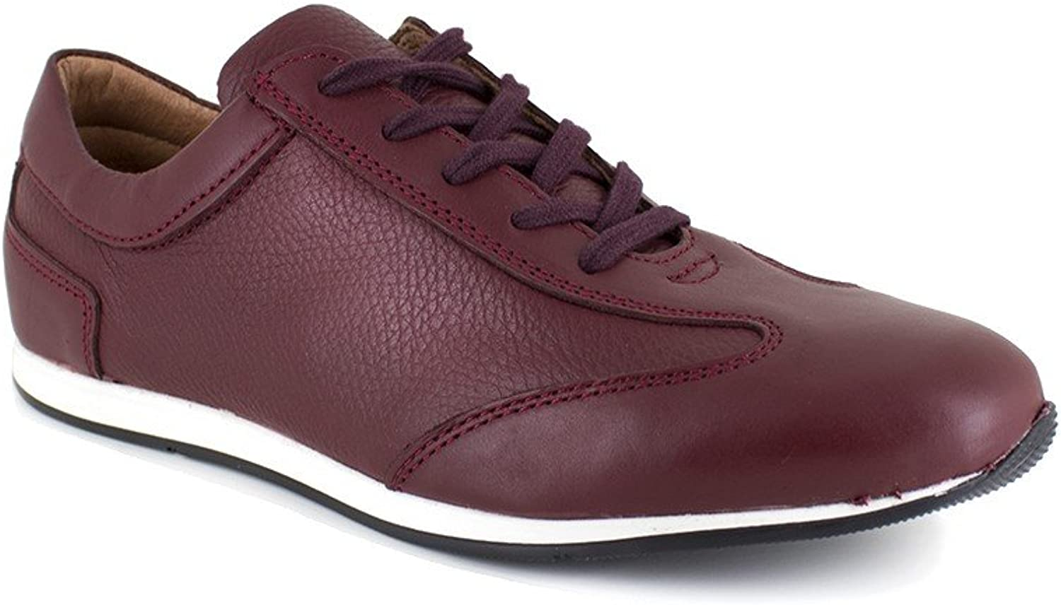 Peter Blade Sneaker Burgundy Leather Cancun