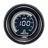 Prosport Performance Reliable Evo Electrical Oil Pressure Gauge, Green...