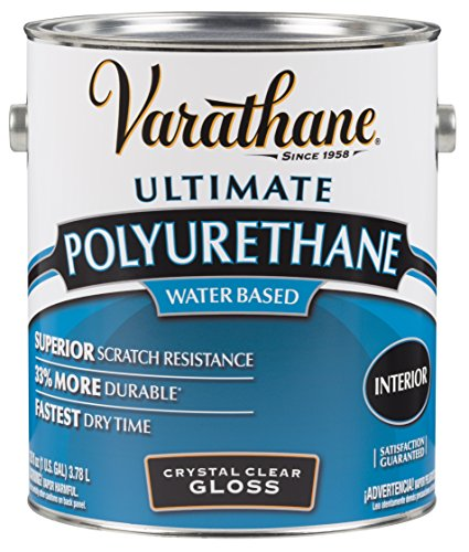 RUST-OLEUM 200031 Waterborne Diamond Polyurethane Scratch and Stain Protection, 1-Gallon, Gloss