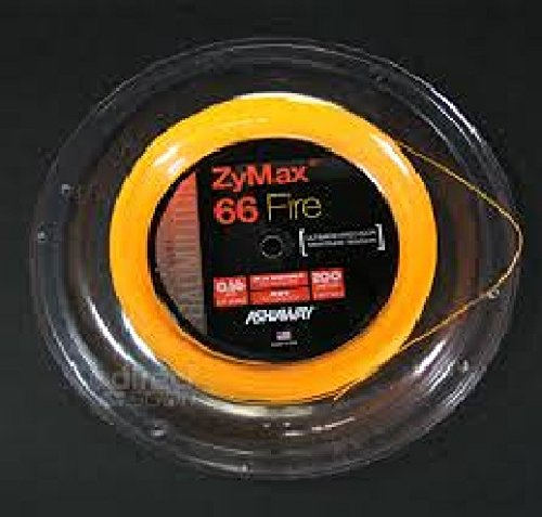 ASHAWAY ZyMax 66Fire Badminton Spule (0.66mm) 200m Spule