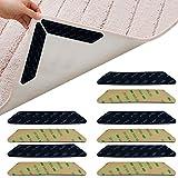 Jerbro Tapacubos antideslizante para alfombra, 24 unidades, adhesivo 3M, cinta adhesiva reutilizable, antideslizante para alfombra, agarre antideslizante para alfombra, agarre anti rizado